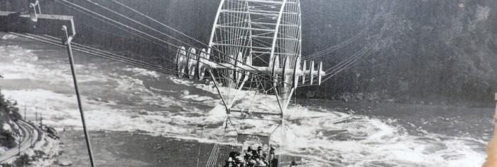 Centenario de la construcción del transbordador de las Cataratas del Niágara